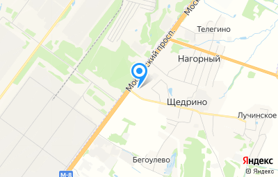 Местоположение на карте пункта техосмотра по адресу Ярославская обл, Ярославский р-н, п Щедрино, ул Московская, стр 6А