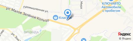 Золотая подкова на карте Аксая