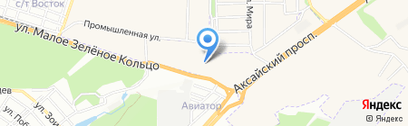 Хендэ Транс Сервис на карте Аксая