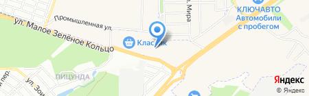 Магазин автозапчастей на карте Аксая