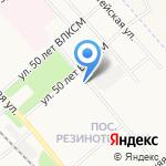 У Баньки на карте Ярославля