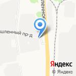 Евротрак на карте Ярославля