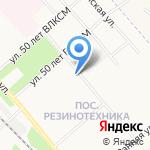 Орбита на карте Ярославля