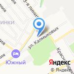Эйрен на карте Ярославля