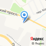 Агрохим на карте Ярославля
