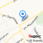 РОСПО на карте Ярославля