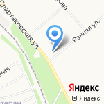Фарм-лига на карте Ярославля
