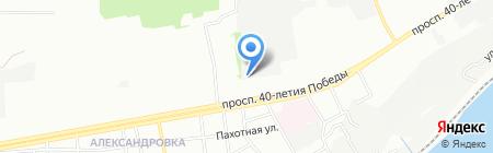 Эскада-Дон на карте Ростова-на-Дону