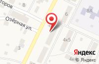 Схема проезда до компании Компания грузоперевозок в Полянах