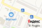 Схема проезда до компании Киоск по продаже цветов в Полянах