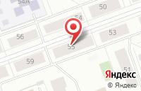 Схема проезда до компании Гиперборей в Северодвинске