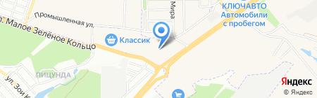 Стартер-Юг на карте Аксая
