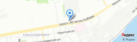 Камея на карте Ростова-на-Дону