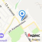 Амброзия на карте Ярославля