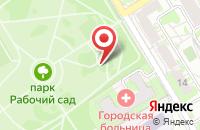 Схема проезда до компании Рабочий сад в Ярославле