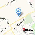 ЯрПК на карте Ярославля
