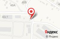 Схема проезда до компании Почтовое отделение в Турлатово