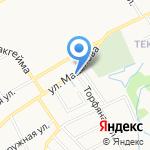 Форд на карте Ярославля