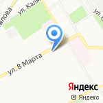 Рыболов на карте Ярославля