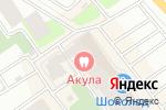 Схема проезда до компании Amon Ra в Вологде