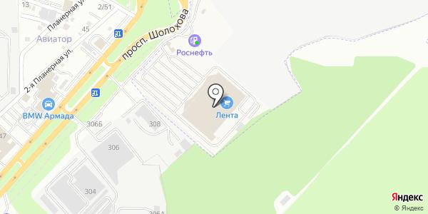 Банкомат МКБ МоскомПриватБанк. Схема проезда в Аксае
