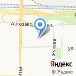 Детский дом Ленинского района на карте Ярославля