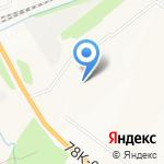 Полянка на карте Ярославля