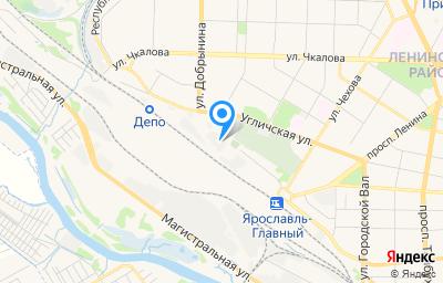 Местоположение на карте пункта техосмотра по адресу г Ярославль, пл Ярославль Главный