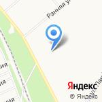 Силуэт на карте Ярославля