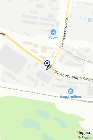 ТФ СНАБ ПЛЮС СЕРВИС на карте Вологды