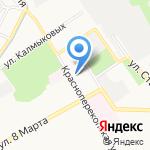 Таиса на карте Ярославля