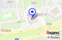 Схема проезда до компании СТРОИТЕЛЬНАЯ ФИРМА ИНГЕО в Шахтах