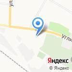 Союзантисептик на карте Ярославля