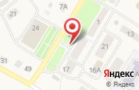 Схема проезда до компании Строитель в Турлатово