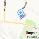 Спектр на карте Ярославля