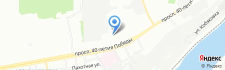 Надежда на карте Ростова-на-Дону