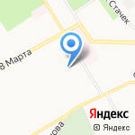 Детский сад №185 на карте Ярославля