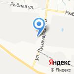Сплав Резерв на карте Вологды