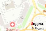 Схема проезда до компании Магазин ковров и паласов в Северодвинске