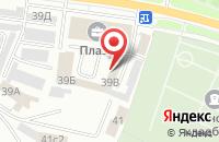 Схема проезда до компании Стандарт безопасности в Ярославле