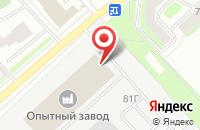 Схема проезда до компании Рускамень-35 в Вологде