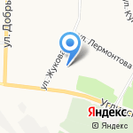 ЯРФК на карте Ярославля