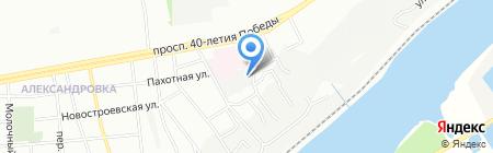 РостЕвроСтрой на карте Ростова-на-Дону