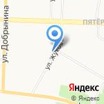 Анта на карте Ярославля