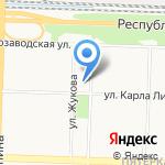 Средняя общеобразовательная школа №3 на карте Ярославля