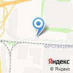 Ярославский автотранспортный союз на карте Ярославля