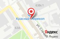 Схема проезда до компании Гильдия Разработчиков в Ярославле