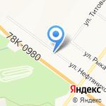 Яркент на карте Ярославля