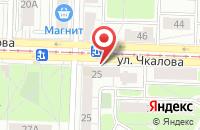 Схема проезда до компании Гриль-бар в Ярославле