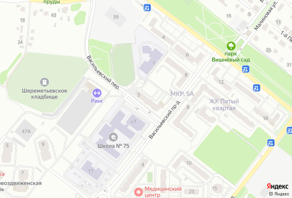 жилой комплекс на ул. Новоселов